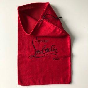 Authentic Christian Loubutin Dust Bag